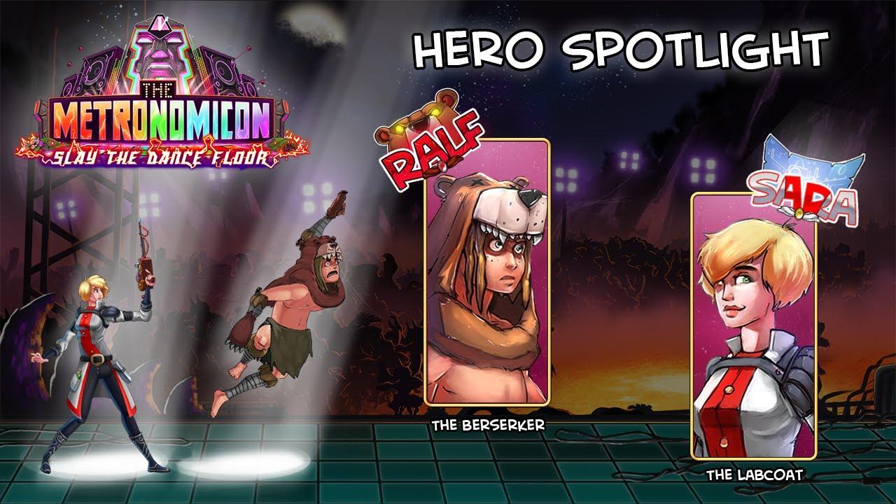 Hero Spotlights Go!
